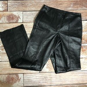 Wilsons leather Maxima black motorcycle pants